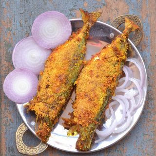 Rava Fried Mackerel