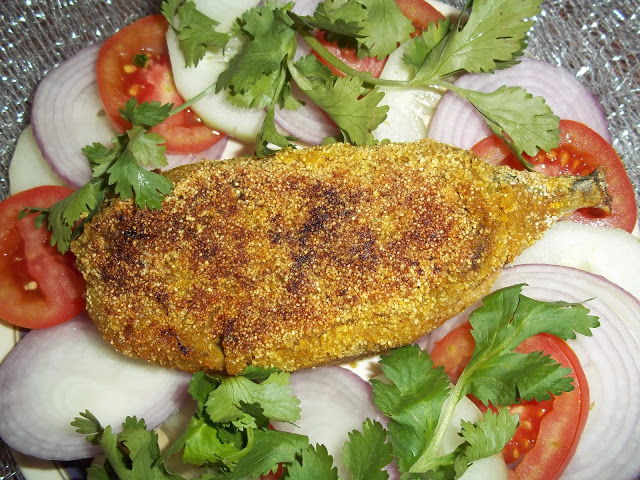 Mouth Watering Stuffed Mackerel
