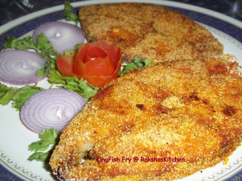 king fish fry, king fish fry recipe