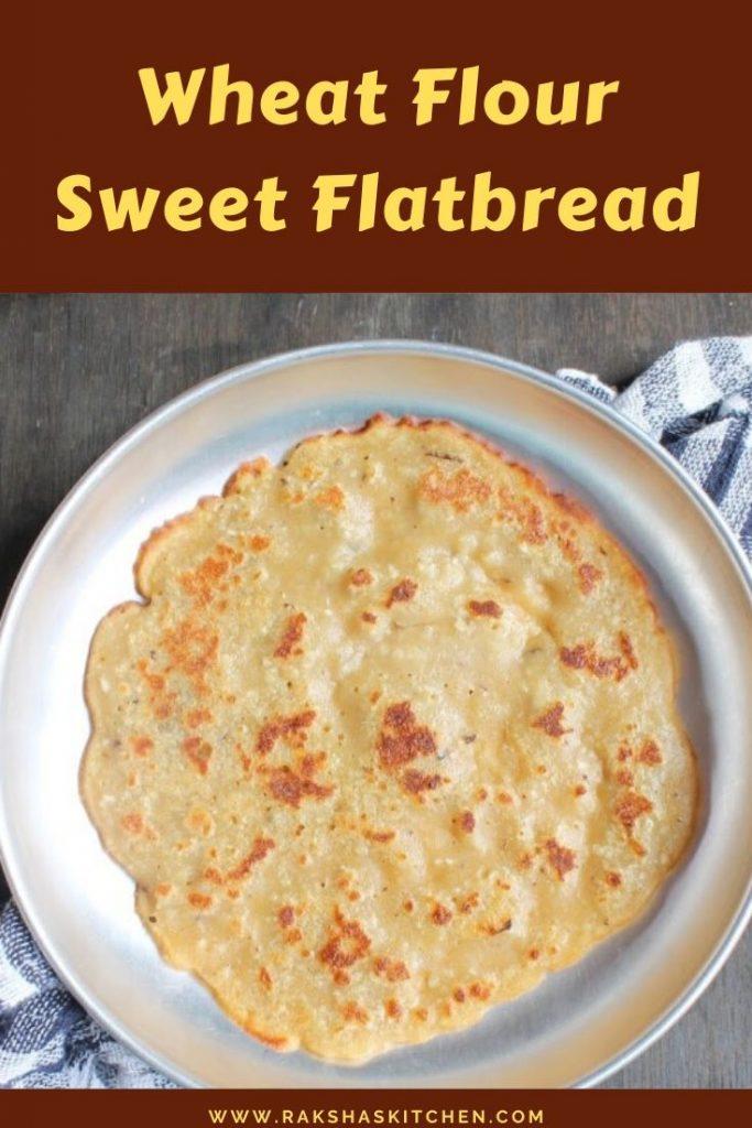 Wheat flour sweet pancake