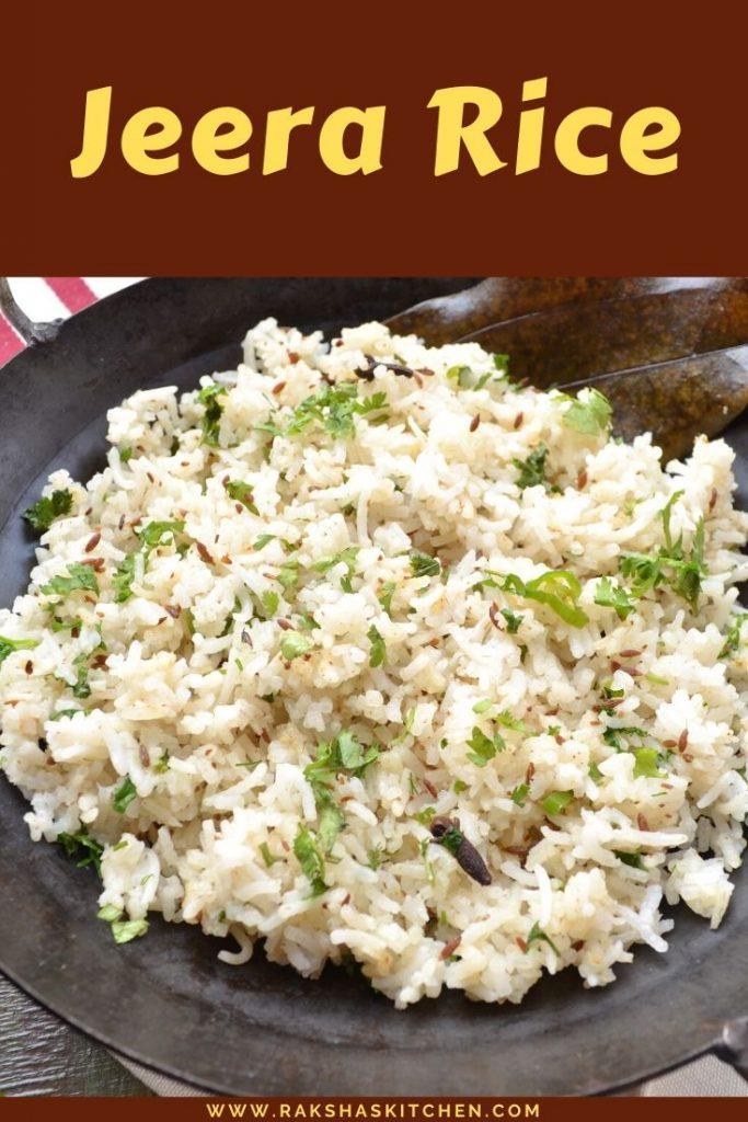Jeera Rice - Indian cumin rice