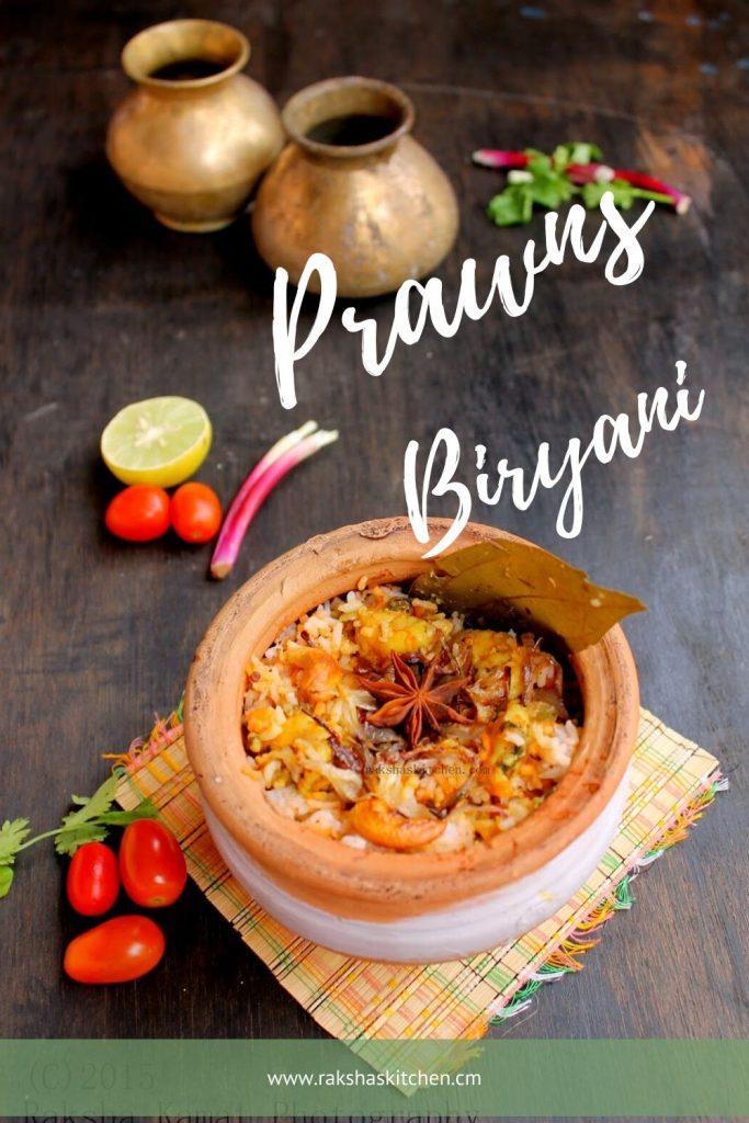 Prawns Biryani