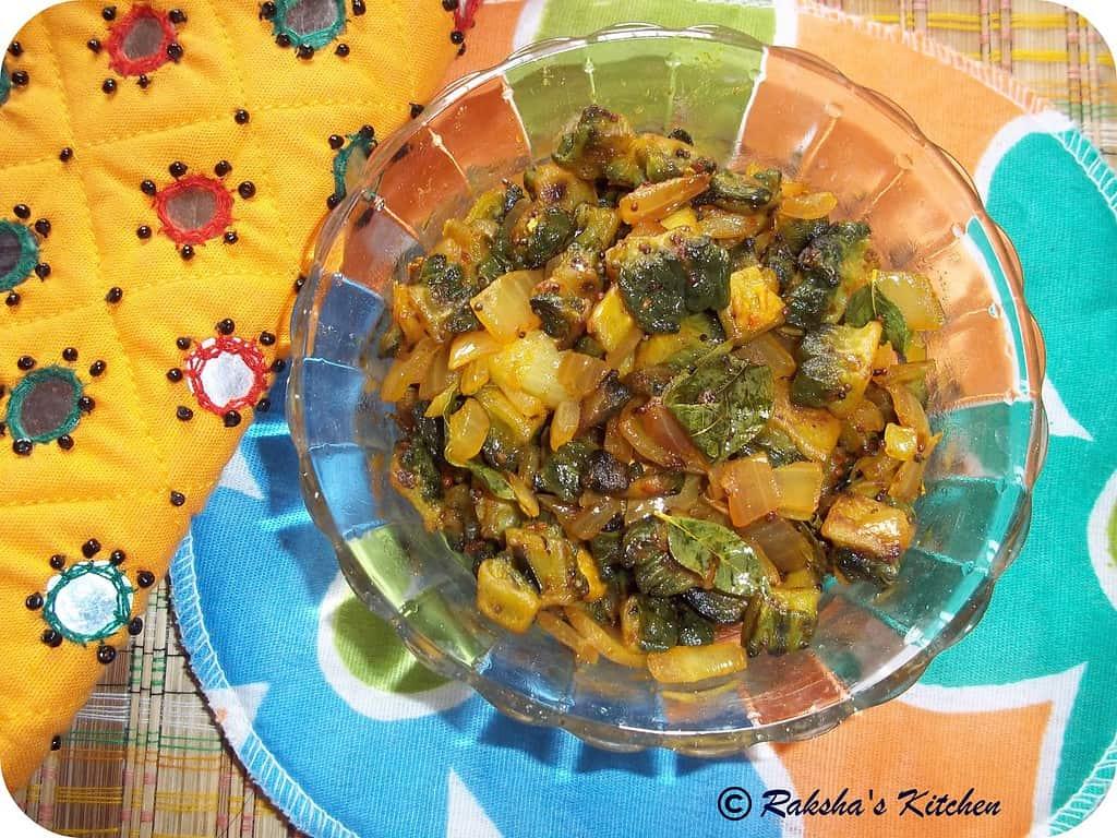 Karela Subzi ,Bitter gourd Subzi