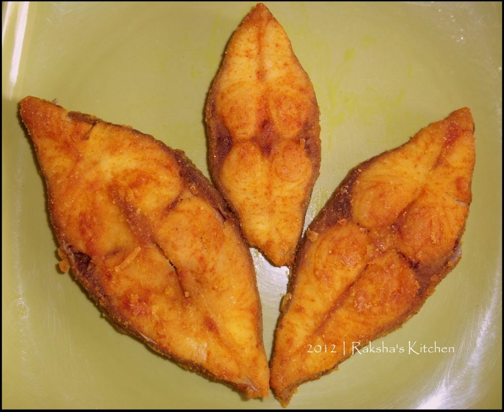 Rawa Fried Black Pomfret