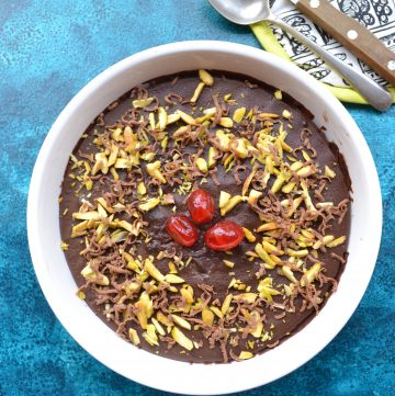 Eggless Marie Biscuit Pudding
