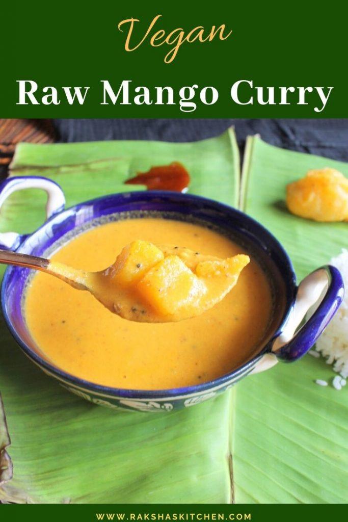 Raw Mango Curry Goan