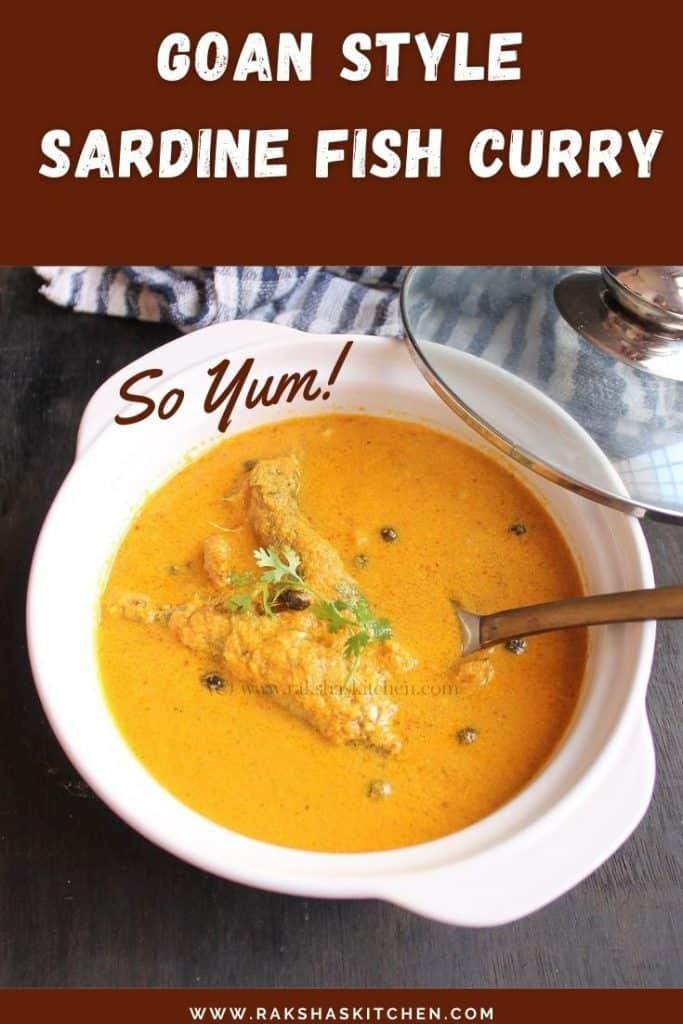 Goan sardine curry recipe