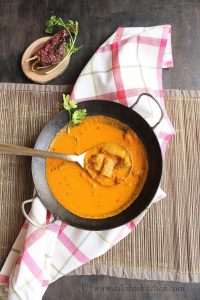 Goan dry prawns curry