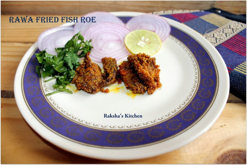 Rawa Fried Fish Roe | Fish Roe Recipes