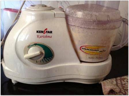 Process the milk cream