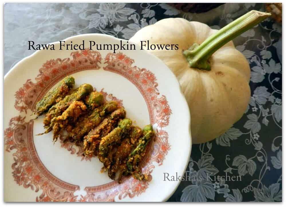 Crispy Rawa Fried Pumpkin Buds