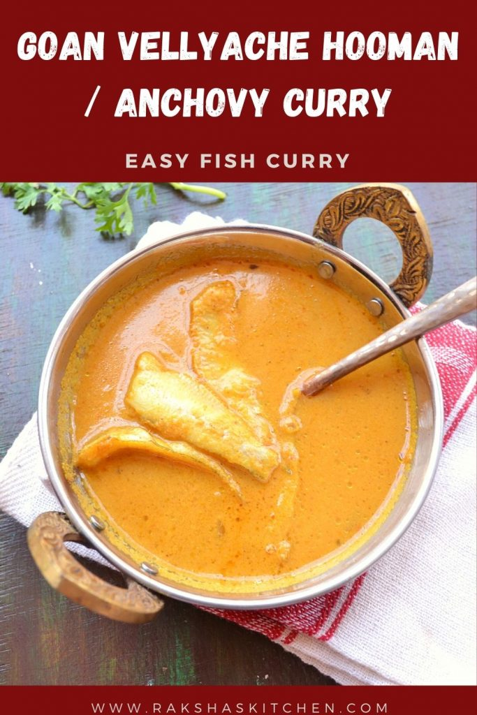 Velli curry | Anchovy curry