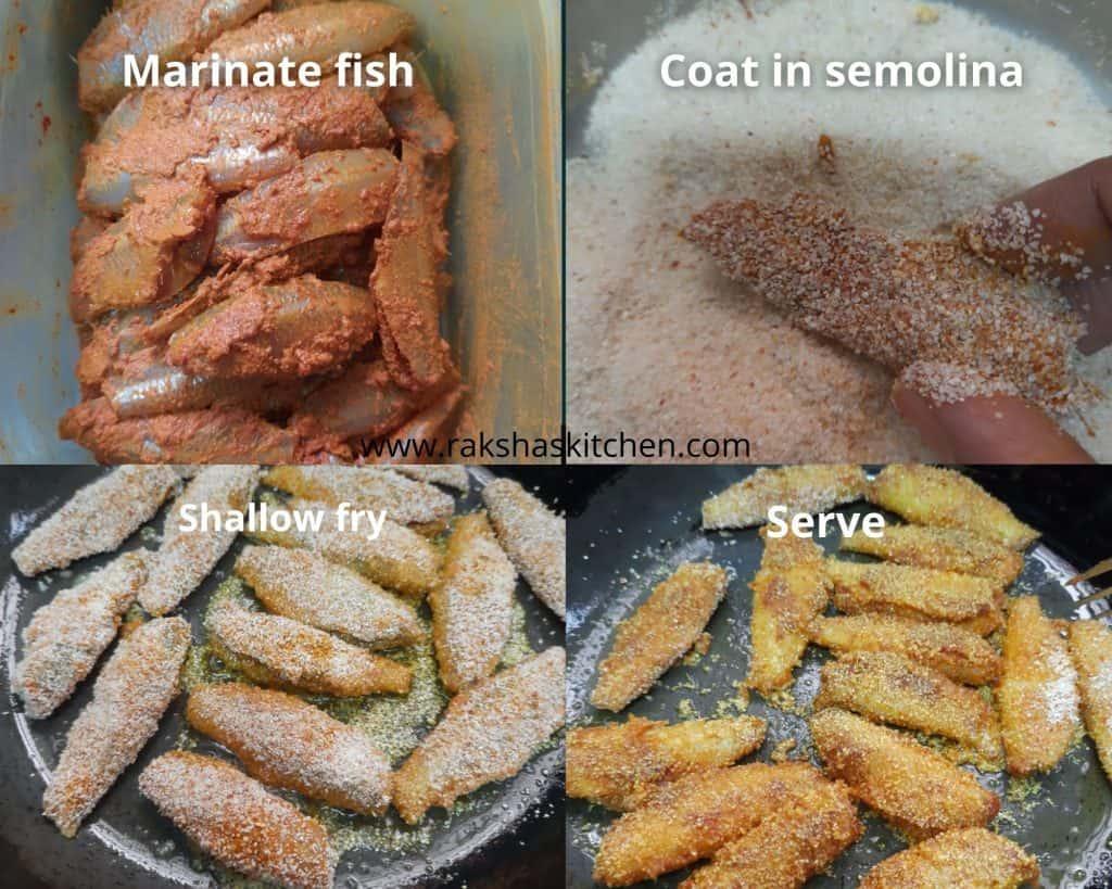 steps to make vellyo fry recipe