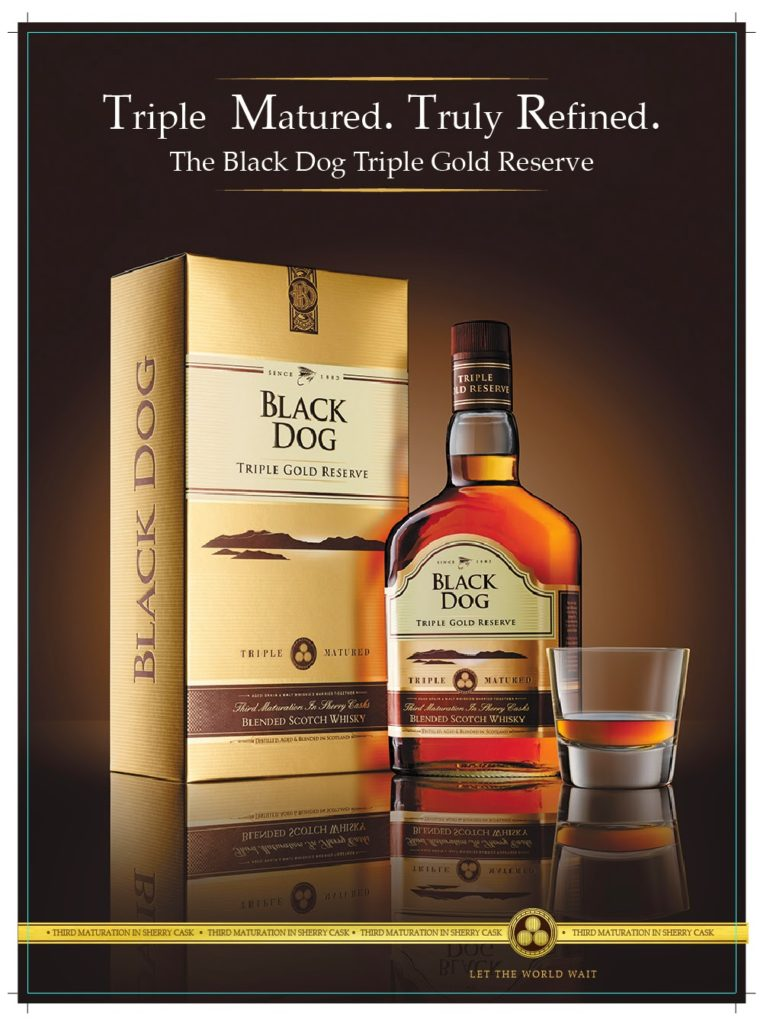 Black Dog Triple Gold Reserve Is Preferred Over Any Year Old Scotch