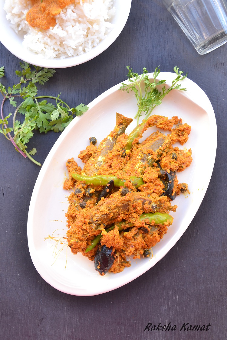 Hot and sour sardines, tallyache sukhe, sardines sukha, Goan sardines curry, tarle recipe, Indian sardines recipe