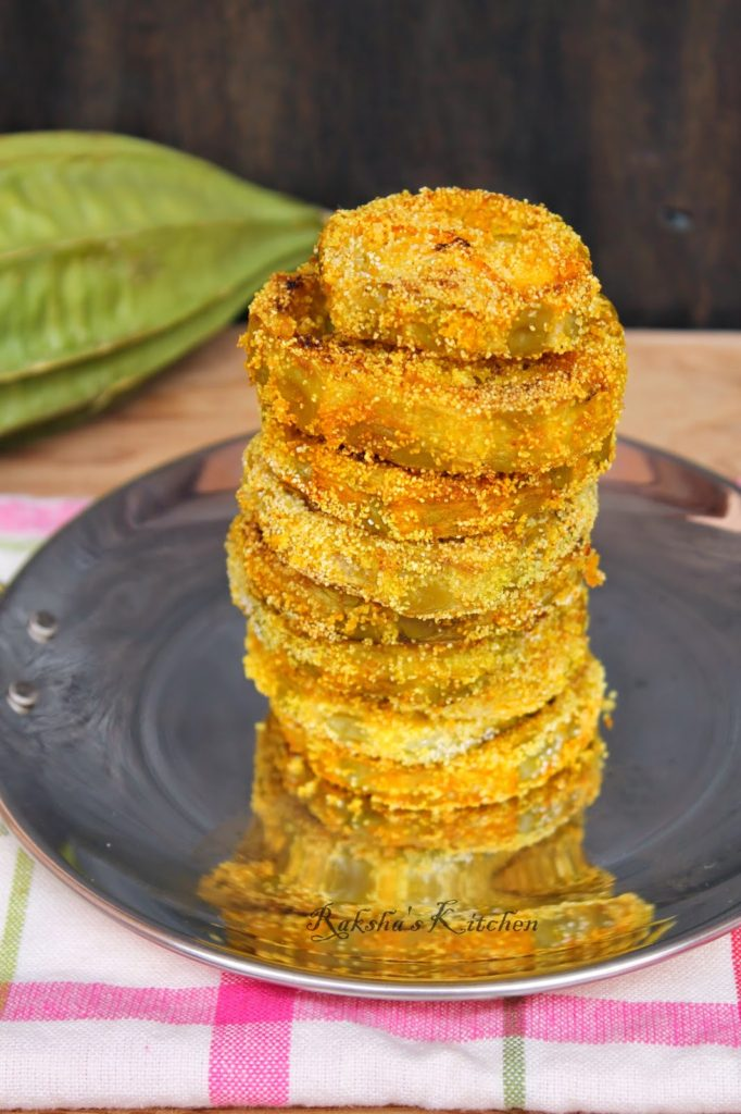 Rava Fried Ridge Gourd