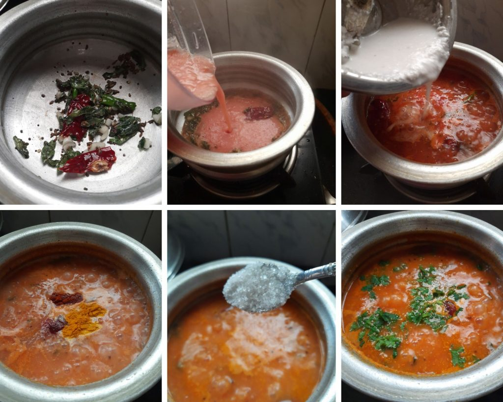 Tomato Curry Step by step