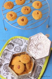 Nankhatai, Indian cookies
