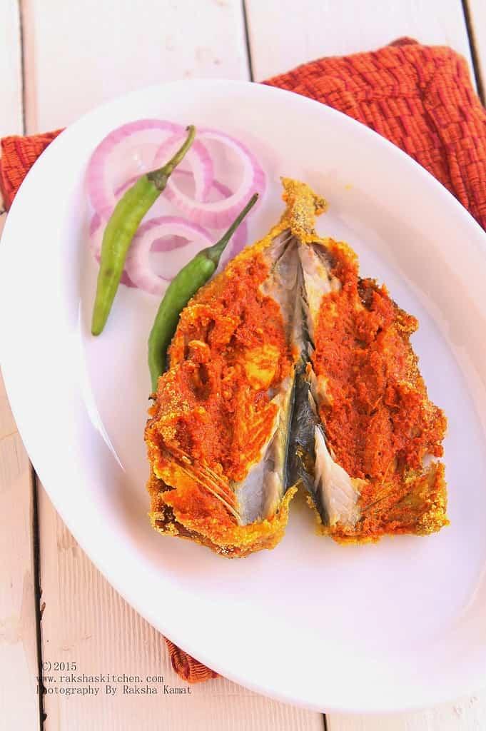 Mackerel Recheado – Stuffed Mackerels | Goan Recipe