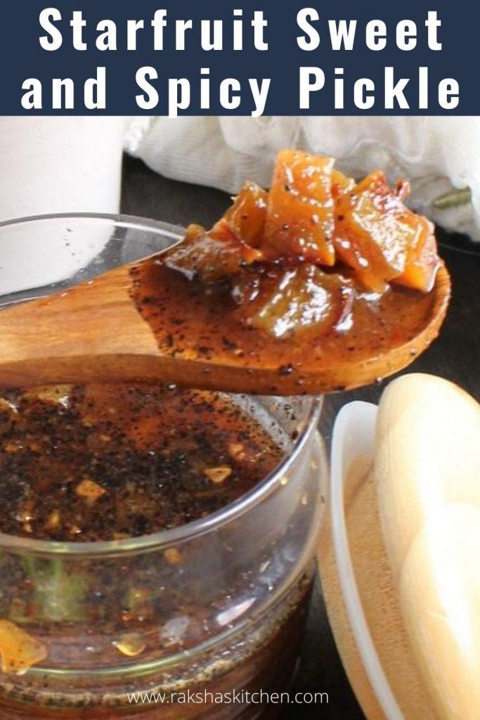 Star fruit chutney