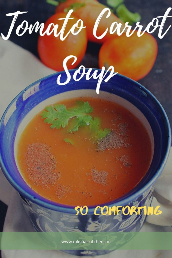 Carrot Tomato Soup Recipe