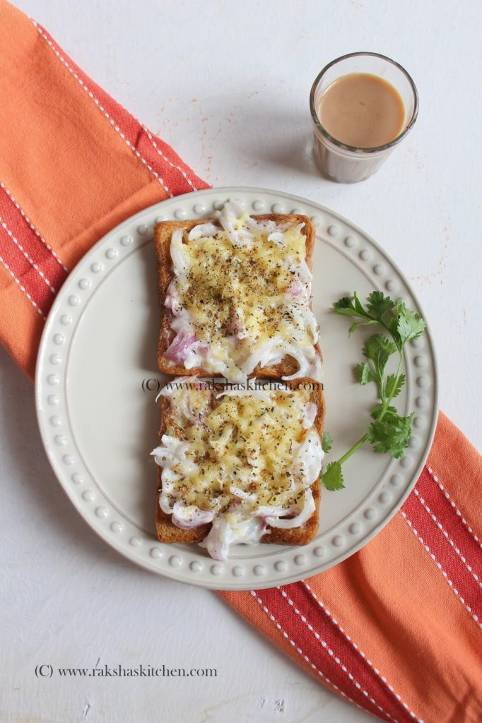 Onion And Parmesan Toast