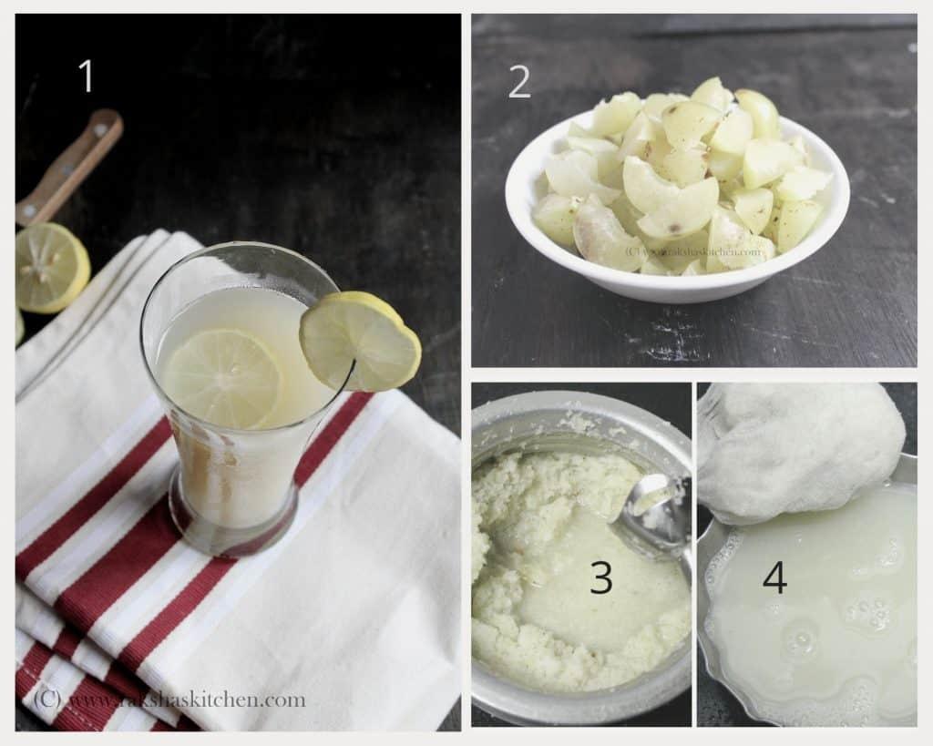 steps to make amla juice