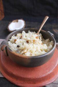rice in coconut milk