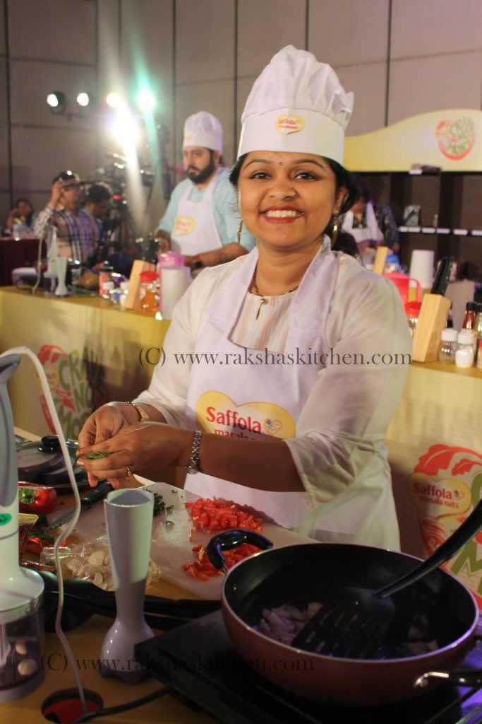 Saffola Masala Oats #CraveNoMore Event, Delhi