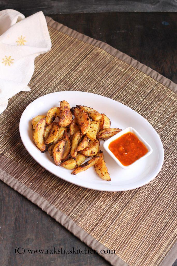 Potato Wedges Baked