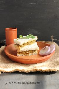 mixed sprouts sandwich