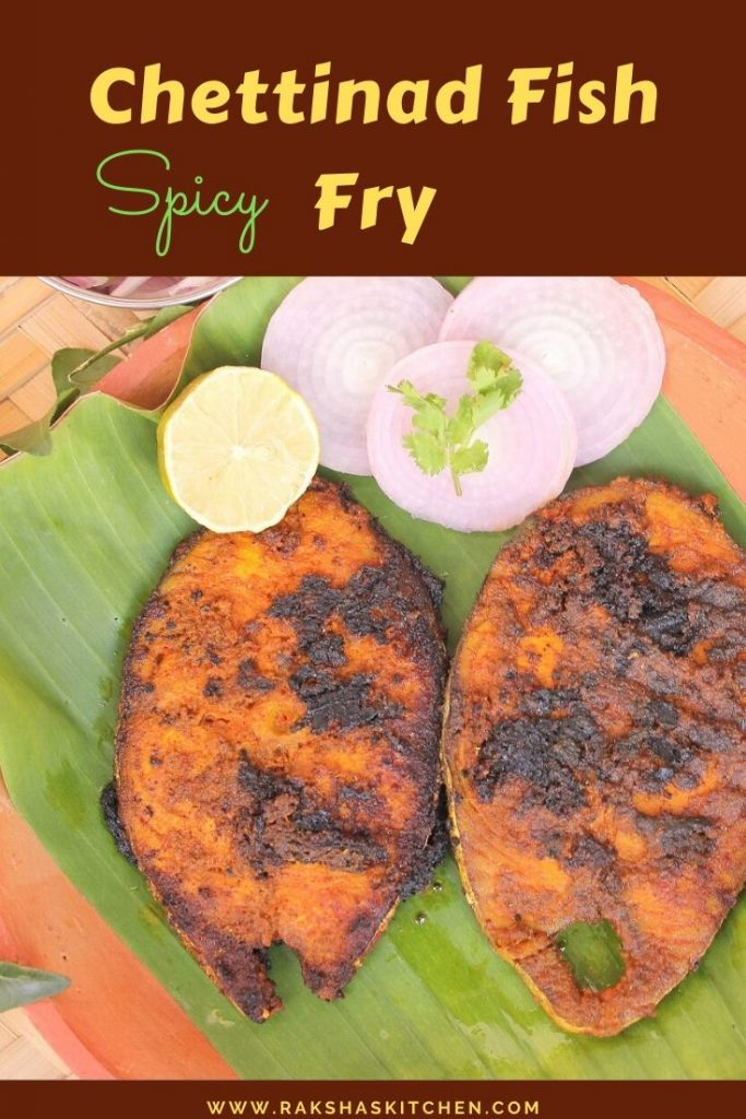 Spicy Chettinad fish fry