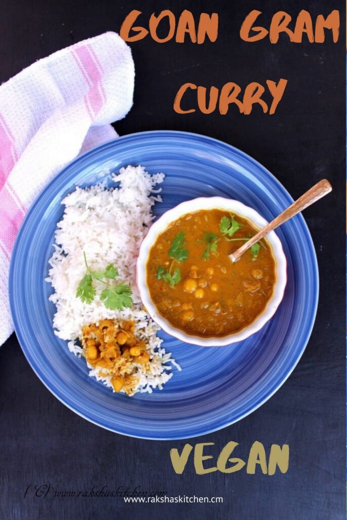 Goan Chana Curry Ross