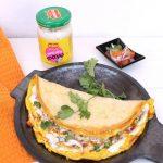 Egg Dosa With Mayo