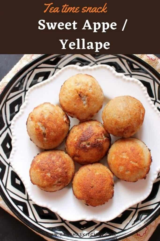 Sweet Appe recipe