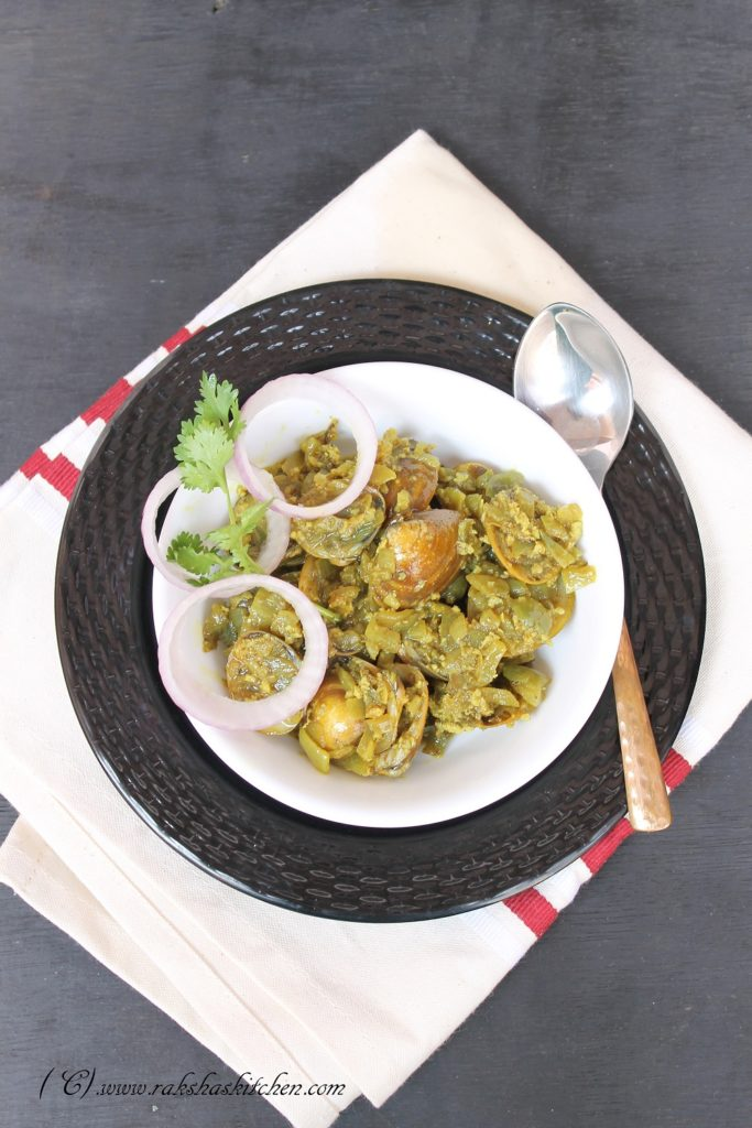 Goan clams sukha