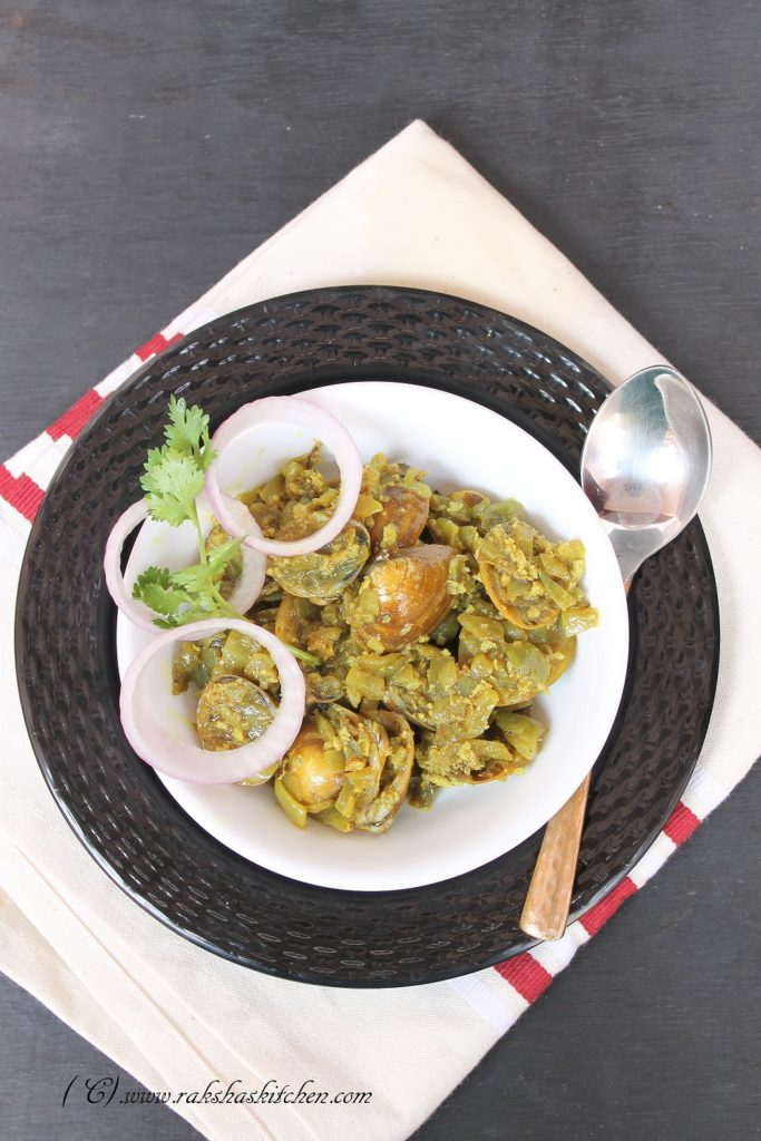Khubyache Sukhe | Goan Black Clam Sukha