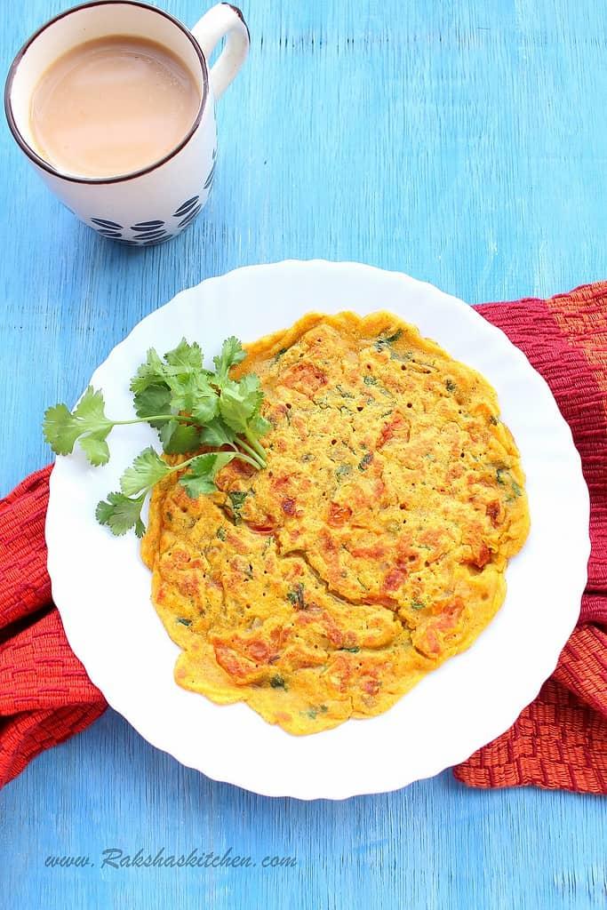 Vegan Eggless Omelette