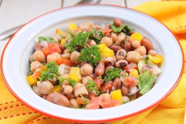 3 Bean salad