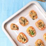 Baked parmesan tomatoes low carb