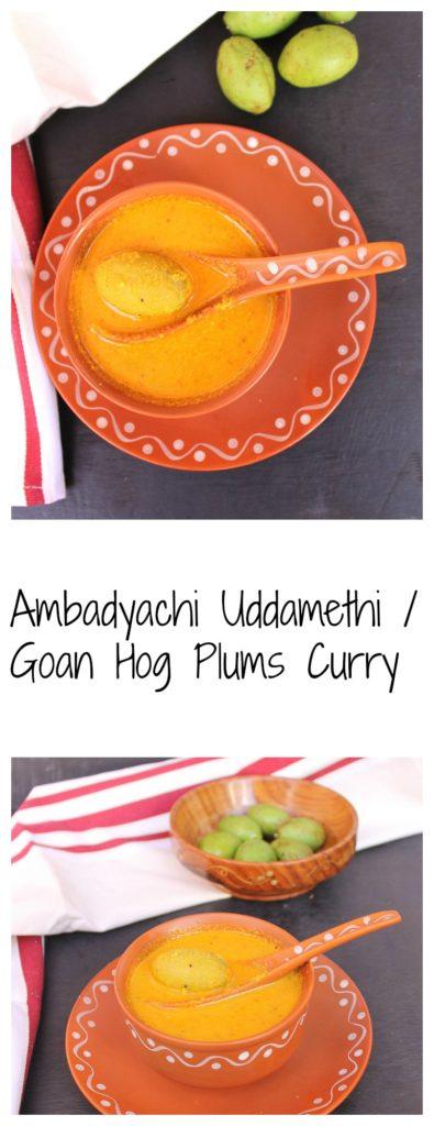 Ambadyachi uddamethi,hog plum recipe