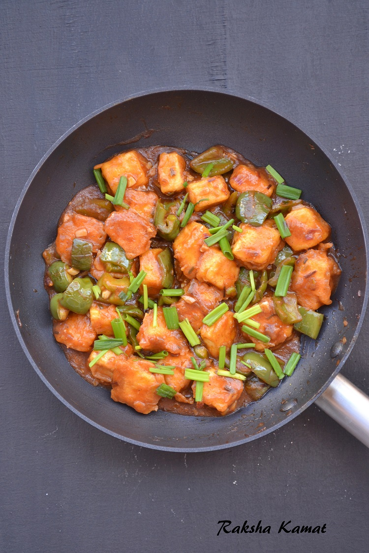 Paneer Manchurian, Cottage cheese manchurian, Paneer recipe, manchurian