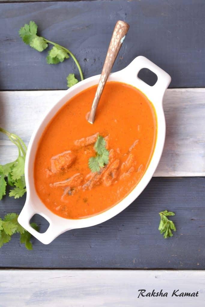 Goan dry fish curry