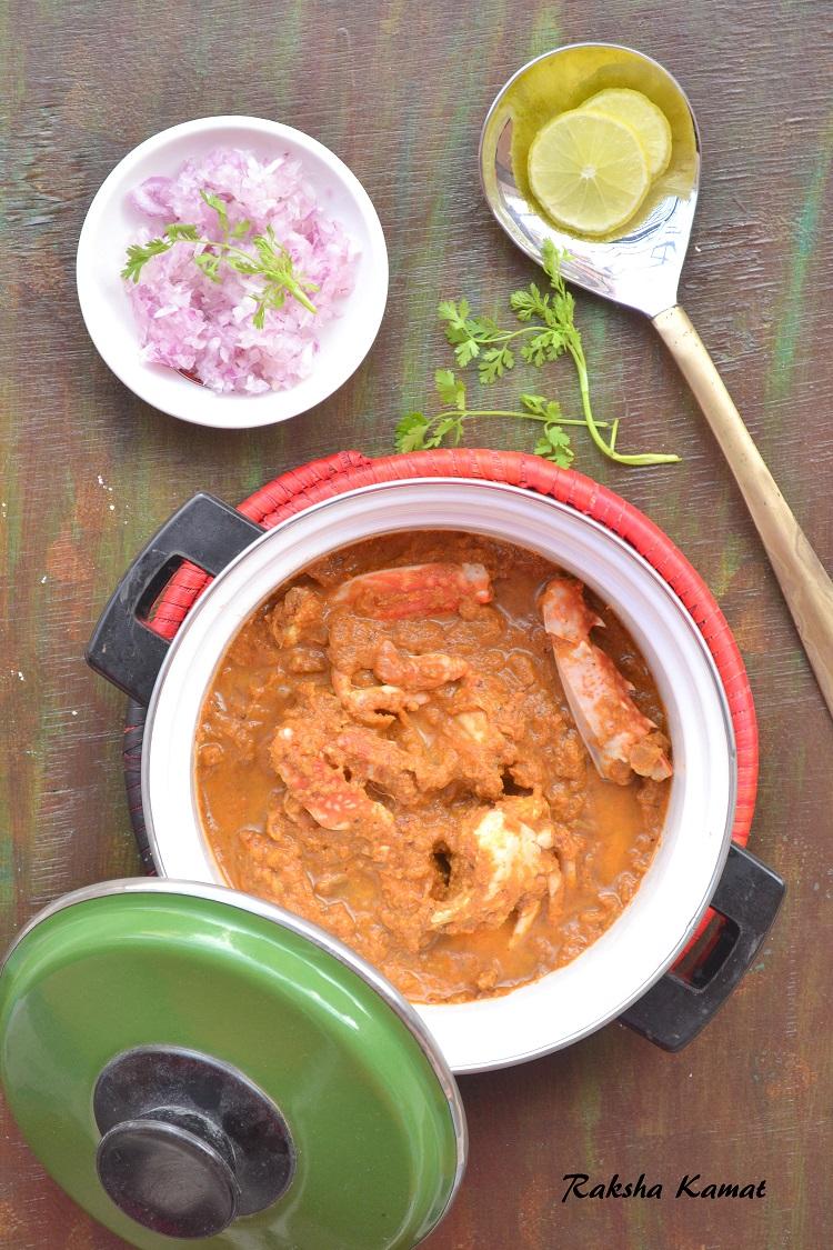 Goan crab curry, Crab recipe, Crab curry