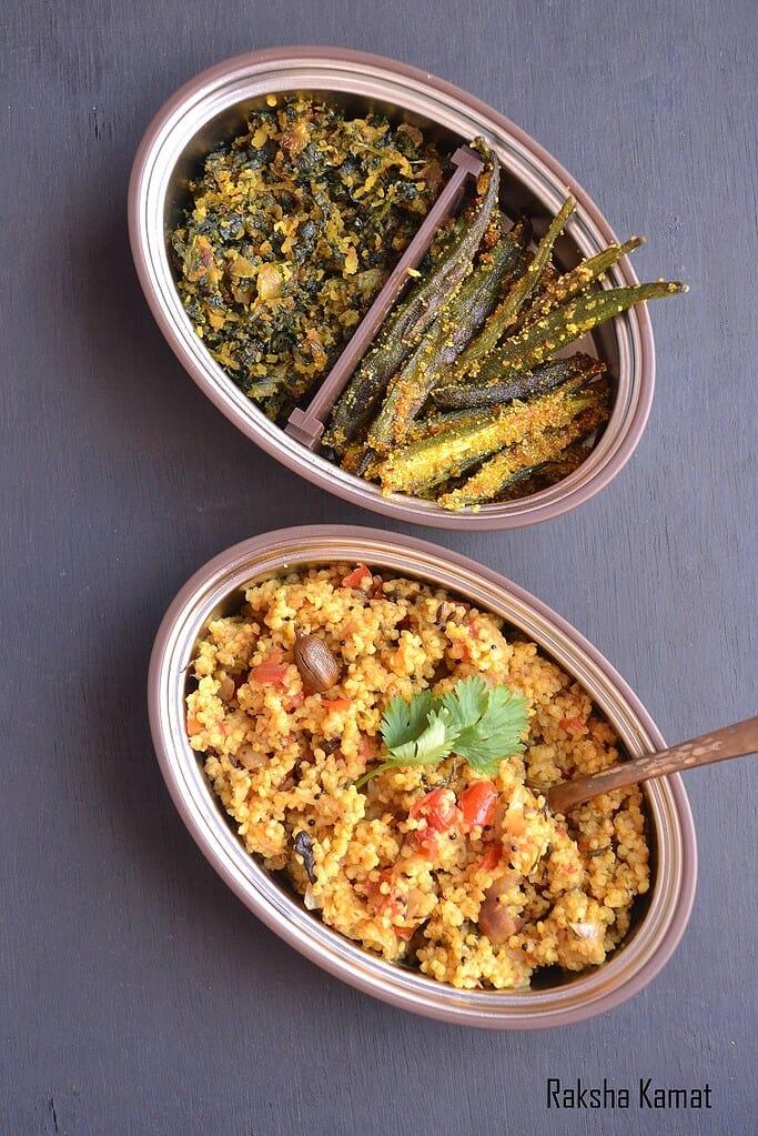 Millet tomato rice, millet rice