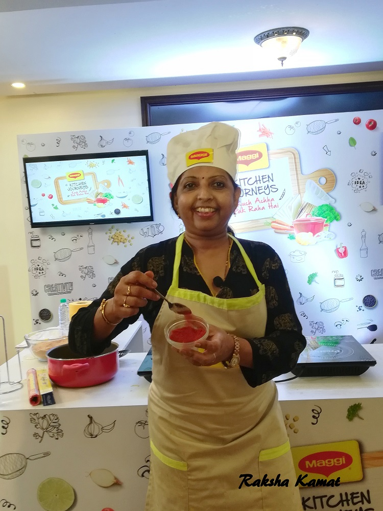 Maggi Kitchen Journey, RIta Shinde, Raksha's Kitchen, Cook off in Goa