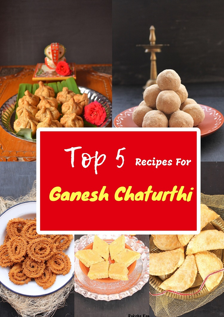 Top 5 Recipes For Ganesh Chaturthi, Ganesh Chaturthi Recipes