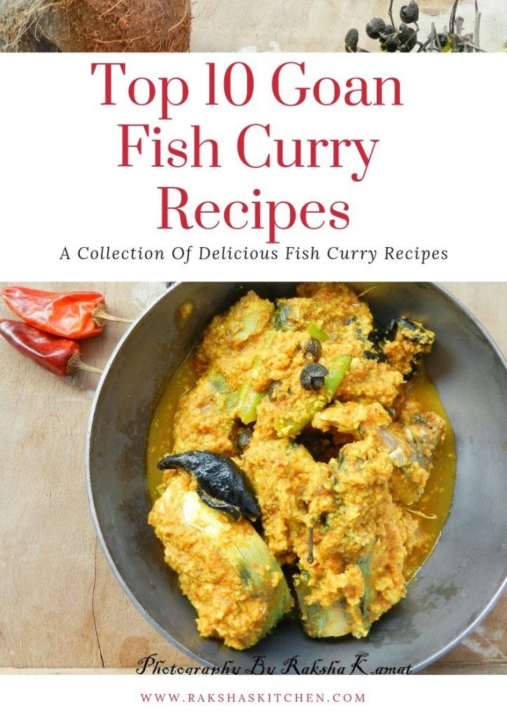 Top 10 Goan Fish Curry Recipes, Fish curry recipes, fish curry, Goan fish curries