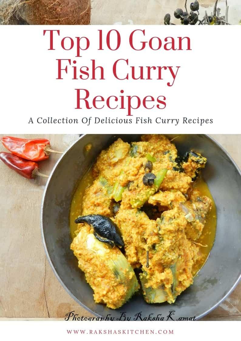 Top 10 Goan Fish Curry Recipes, Fish curry recipes, fish curry, Goan fish curries