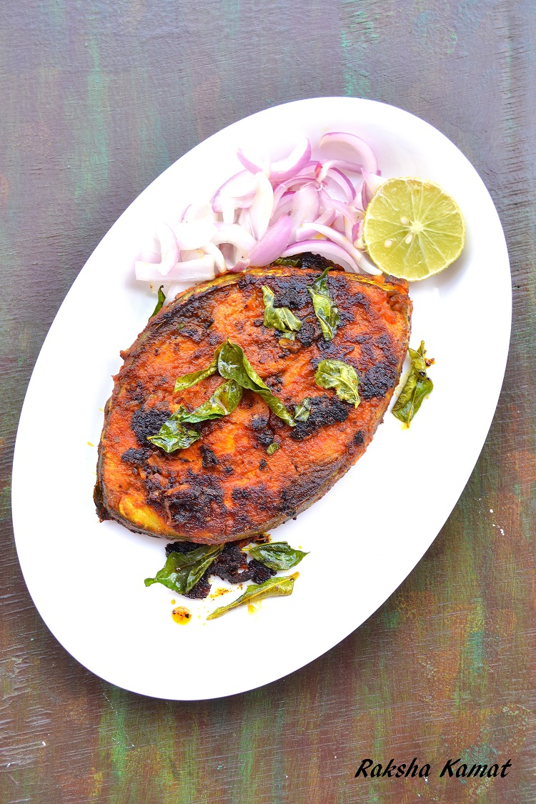 Fish Masala Fry / Masala Fried Fish